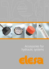 Accessories for hydraulic systems catalogue - new from Elesa