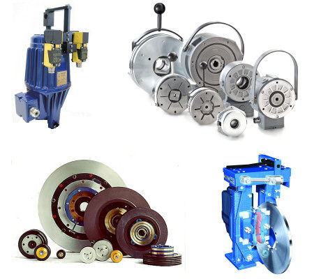 Disc Brakes, Drum Brakes, Electromagnetic Brake, Hydraulic Clutch