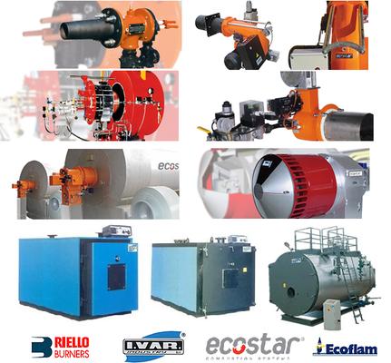 burners, steam boilers, Riello, Ecoflam, Ecostar - Industrial Steam ...