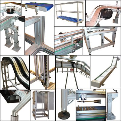 Aluminium Profiles, Conveyor Components, Small Conveyor Components, Aluminium Conveyor Components, Conveyor Accessories, Hygienic Stainless Steel Conveyor, Lanamatic Linear Cylinders, Linear Cylinders, Operator Panels, Touch Screen Operator Interface