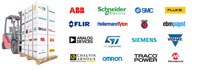 Electrical Components, Relays, Circuit Breakers, Diodes, LED Lights, Transistors, Batteries, Switches, Semiconductors