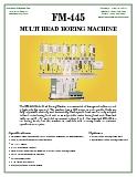 FM-445 Multi Head Boring Machine
