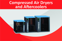 New range of locally assembled high capacity air cooled after coolers is now available from Artic Driers. Equipped with high efficiency fans and weatherproof switch, these units are ideal for air treatment for hire units and fixed applications.