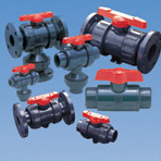 These valve performs an on/off or modulating function. Its name is derived from the flow-controlling ball valve located within the body of the valve.
