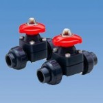 Diaphragm valves offer many combinations of body and elastomeric diaphragm materials. The valve design is abrasion resistant and non-clogging.