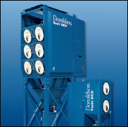 The Donaldson Torit Downflo II dust collector revolutionized dust collection in the 1980's with a patented downward airflow design that delivers high filtration efficiency while consuming less energy.