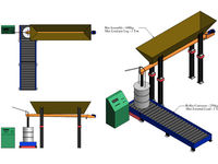 Blending of multiple products into a single weigh bin. Continuous blending, concrete batching plants, cement blending, aggregate and brick plants.