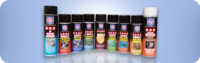 Several of LE's great industrial lubricants are available in easy-to-use convenient aerosol cans if small lubrication quantities are required in particular places.