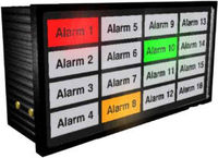 Suppliers of LED BACKLIT INDICATOR SYSTEM for use with PLC, MULTI 16 PLUS or AEM4