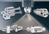 Choose from automated spray nozzle models with variable or standard sprays, dispensing nozzles, compact designs, clean-out needles, mounting options and more.