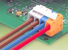 On-line Electronics offers a very extensive line of WAGO terminal strips and connector terminal blocks.
