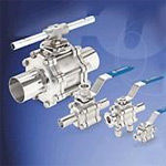 Ram Universal offers a wide variety of ball valves and componenets.