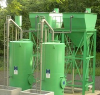 A range of conical bottom Clarifiers with either concrete shell with steel internals, or fully steel construction, depending on diameter are available in sizes to compliment our range of AGF Autonomous Valveless Gravity Sand Filters.
