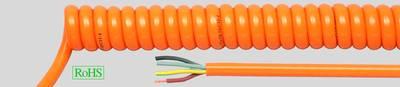 PUR Spiral Cables Orange