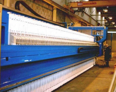 Filter Presses in the Ceramic Industry
