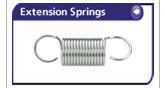 Extension Springs from Lee Spring Ltd