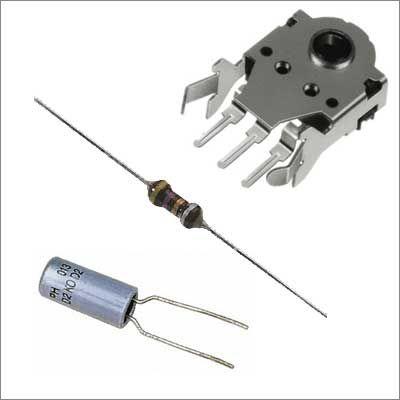 Passive Components, Capacitors, Ferrite Cores, Fixed Resistors, Inductors, Rotary Encoders, Variable Resistors