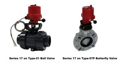 New Series 17 Electric Actuator Now Available