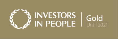 Investors In People Gold Status Accreditation for Colloide