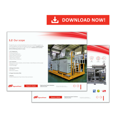 Discover Our Comprehensive Offers and Products for Engineered Air Systems and Packaged Solutions