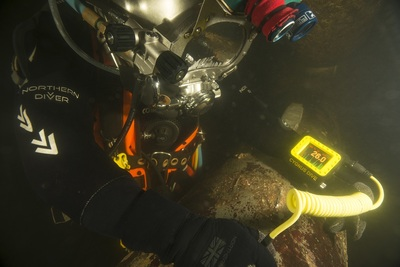 Ultrasonic Inspection Equipment for Divers and ROVs from the Global UTG Specialist Cygnus
