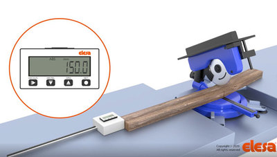 Elesa MPI-R10 linear and angular magnetic measuring system – simple, accurate, reliable