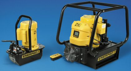 ZE Electric Pumps from Enerpac