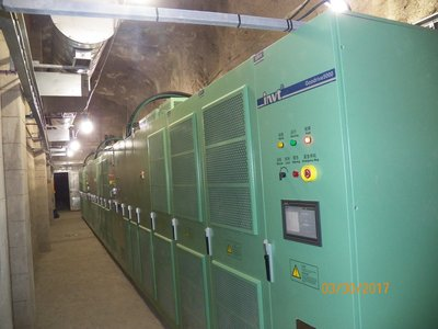 6 x 1000kVA INVT GD5000 MV AC DRIVES