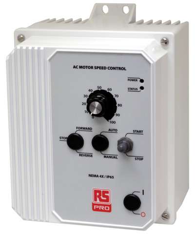 RS Components extends RS Pro portfolio with IP50- and IP65-rated AC inverter drives and accessories