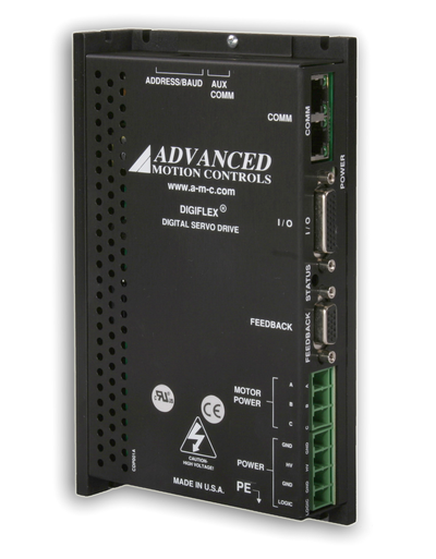 CANopen Brushless Servo Amplifiers establish a new benchmark in versatility