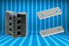 New plastic hinges and mounting adjustment devices from Elesa